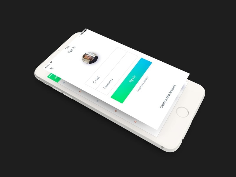 Mobile Services Mockup